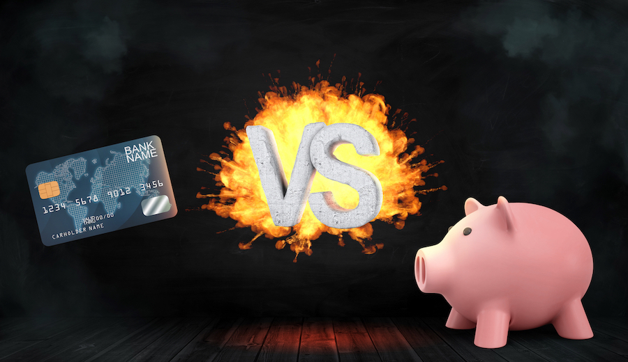 Cash or Credit: Which one to choose?